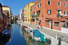 Venice urban life Royalty Free Stock Photography
