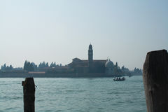 Venice from the vaporetto Royalty Free Stock Image