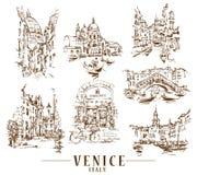 Free Venice Vector Illustraton Royalty Free Stock Image - 149501896