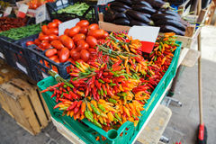 Venice vegetables and fruits Stock Photography