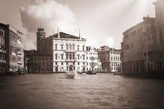 Venice veneto venetian venezia vintage black & white.  royalty free stock photography