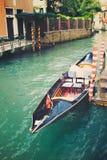 Venice veneto venetian venezia vintage gondola italia. Venice veneto venetian venezia vintage gondola Stock Photography
