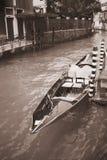 Venice veneto venetian venezia vintage black & white. Venice veneto venetian venezia vintage gondola italia black & white Stock Image