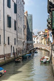 Venice (Venezia), canal Stock Photo