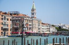 Venice Venezia Italy. Grand Canal Palaces royalty free stock photos