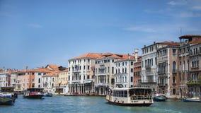 Venice Venezia Italy. Grand Canal Palazzo royalty free stock photos