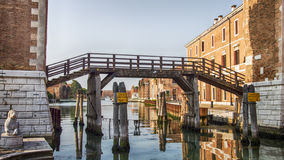 Venice Venezia Italy. Lions of Arsenal royalty free stock photo