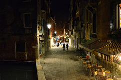 Venice. Venezia in the night Stock Image