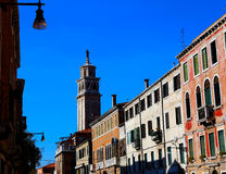 Venice. Very romantic and colorful streets in Venice. You can feel the art on every corner Stock Image