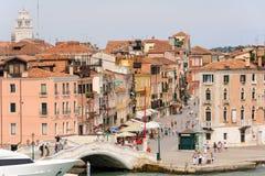 Venice via Giuseppe Garibaldi Stock Image