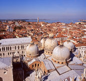 Venice view Stock Image