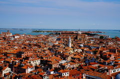 Venice view from above Royalty Free Stock Image
