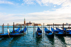 Venice view on a bright Stock Photo