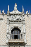 Venice. View of ducal palace Stock Images