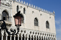 Venice. View of ducal palace Stock Photography