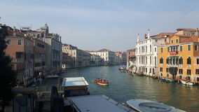 Venice. View of venice from the grand canal Royalty Free Stock Images