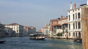 Venice. View of venice from grand canal Royalty Free Stock Images