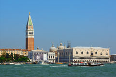 Venice view from the lagoon, Italy Stock Photos