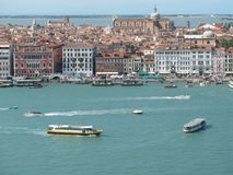 Venice, view of the lagoon Royalty Free Stock Photos