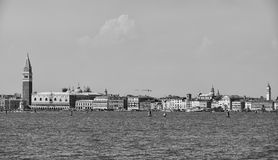 Venice view from lido Royalty Free Stock Photography