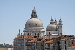 Venice, view of the Ponte Accademia Royalty Free Stock Image