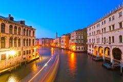 Venice, View from Rialto Bridge. Royalty Free Stock Photo