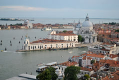 Venice. View of Venice from Saint marks campanile, Venice, Italy Royalty Free Stock Images
