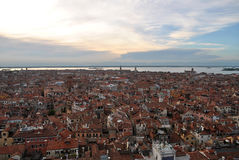 Venice. View of Venice from Saint marks campanile, Venice, Italy Royalty Free Stock Image