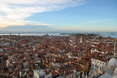 Venice. View of Venice from Saint marks campanile, Venice, Italy Stock Images