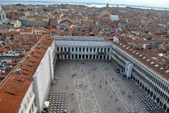 Venice. View of Venice from Saint marks campanile, Venice, Italy Royalty Free Stock Photography