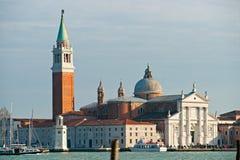 Venice, View of San Giorgio maggiore . Stock Photos