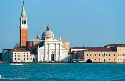 Venice, View of San Giorgio maggiore . Royalty Free Stock Images