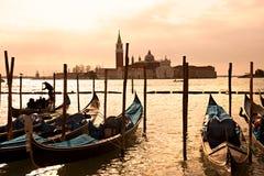 Venice, View of San Giorgio maggiore. Stock Photography