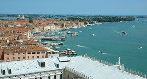 Venice View. View from St Marks Campanile Stock Image