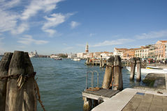 Venice - View to San Marco Royalty Free Stock Photo