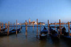 Venice. Views of Venice and its canals and its gondolas Royalty Free Stock Photos