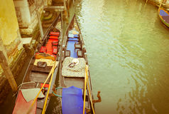 Venice, vintage Royalty Free Stock Images