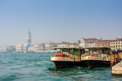 Venice,water bus. Stock Photography