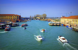 Grand Canal,Venice Italy Stock Photography