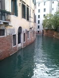 Venice water. A canal in Venice Royalty Free Stock Photography