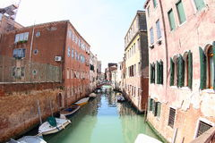 Venice Water Channel Royalty Free Stock Image