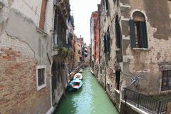 Venice Water Channel Stock Photos
