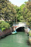 Venice Water Channel Royalty Free Stock Images