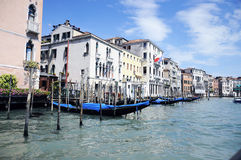 Venice. Water channel from Venice, Italay Royalty Free Stock Image