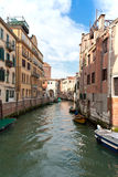 Venice. Water street. Royalty Free Stock Photography