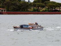 Venice. Water transport. Royalty Free Stock Images