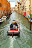 Venice. Water transport Royalty Free Stock Image