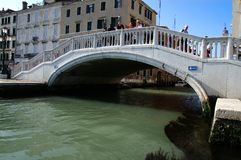 Venice water way Stock Image