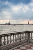 Venice from the waterfront Stock Photography