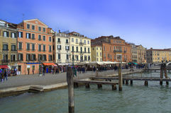 Venice waterfront Stock Images